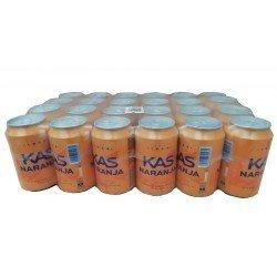 Kas naranja 24x33 cl. Latas