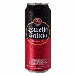 Estrella Galicia 50 cl. Lata