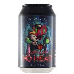 Brew & Roll Captain No Head...